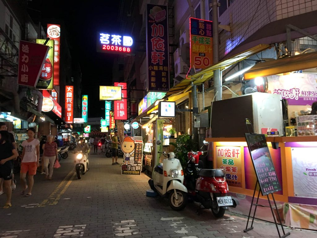 Tainan by night